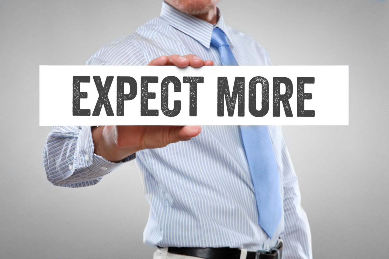 It's Okay to Expect More From Your Team