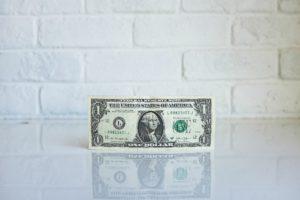 stock photo of dollar bill